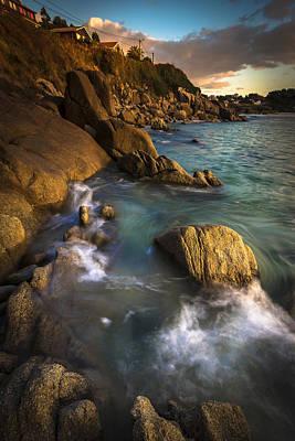 Chanteiro Beach Galicia Spain Poster