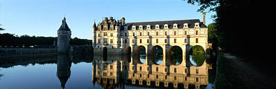 Chateau De Chenonceaux Loire Valley Poster by Panoramic Images