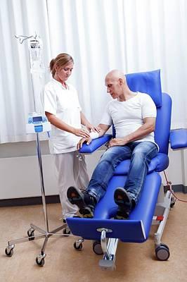 Chemotherapy Treatment Poster by Thomas Fredberg