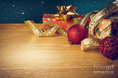 Christmas Still-life Poster by Carlos Caetano