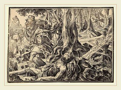 Christoph Murer, Christ Tells His Disciples Of The Last Poster