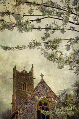 Church Poster by Svetlana Sewell