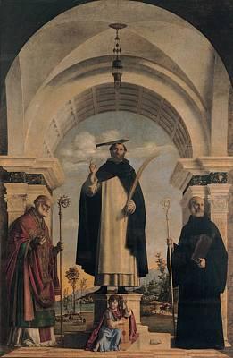 Cima Da Conegliano Giovanni Battista Poster by Everett