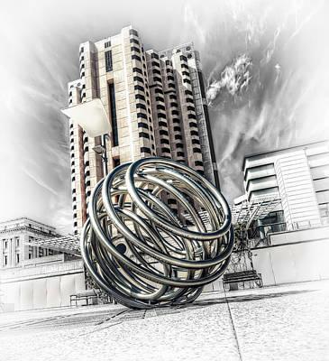 Cityscape Poster by Wayne Sherriff