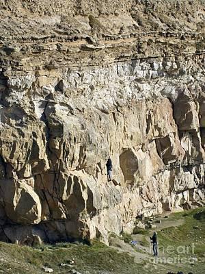 Cliff Face, Dorset Poster