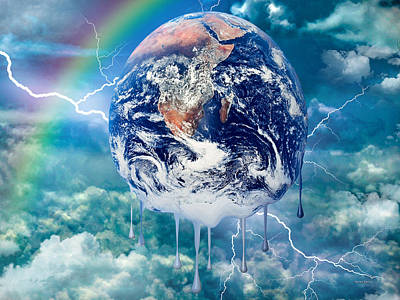 Climate Change Poster by Robert Orinski