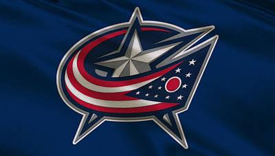 Columbus Blue Jackets Uniform Poster