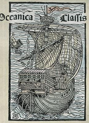 Columbus, Christopher 1451-1506 Poster by Everett