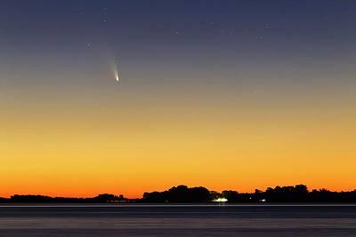 Comet Panstarrs Poster