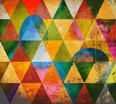Contemporary Poster by Mark Ashkenazi