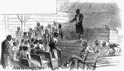 Cotton Plantation, 1867 Poster by Granger