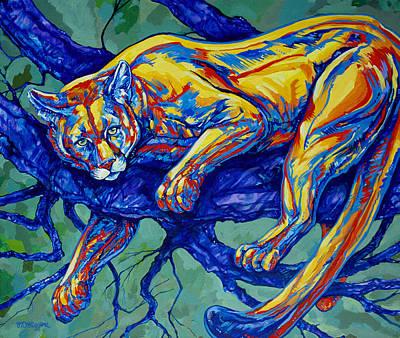 Cougar Poster by Derrick Higgins