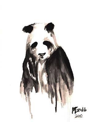 Crying Panda Poster