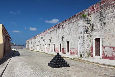 Cuba, Havana, Fortaleza De San Carlos Poster by Walter Bibikow