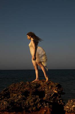 Dancing On The Rocks Poster by Manolis Tsantakis