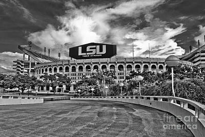 Death Valley - Hdr Bw Poster