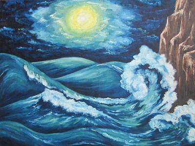 Deep Water Poster by Cheryl Pettigrew