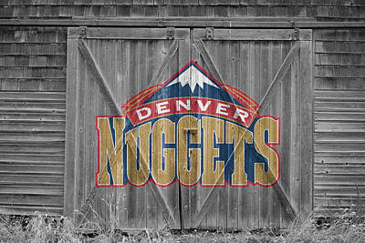 Denver Nuggets Poster by Joe Hamilton