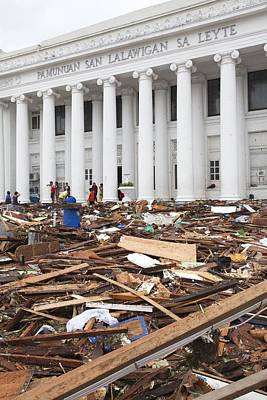 Destruction After Super Typhoon Haiyan Poster