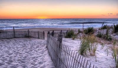 Dewey Beach Sunrise Poster