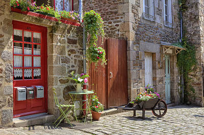 Dinan - Brittany Poster