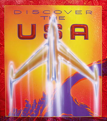Discover The Usa Poster
