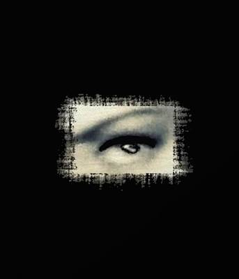 Distorted Eye Poster