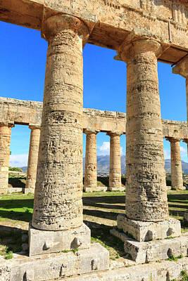 Dorian Temple Of Segesta Poster