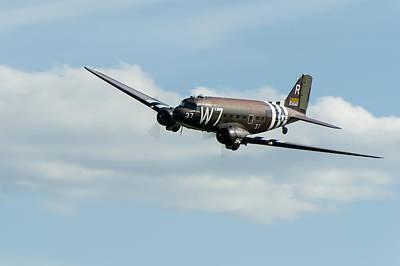 Douglas C-47 Skytrain Whiskey 7 Poster by Gary Eason