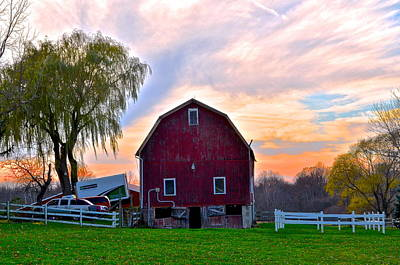 Down On The Farm Poster by Frozen in Time Fine Art Photography
