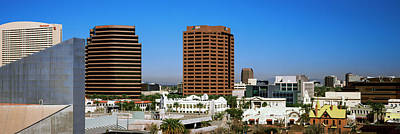 Downtown Buildings Of Phoenix, Maricopa Poster by Panoramic Images