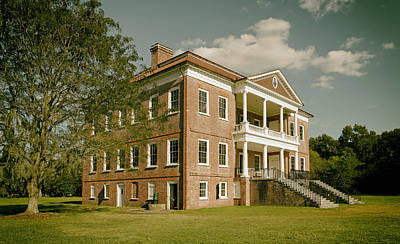 Drayton Hall Plantation House Poster