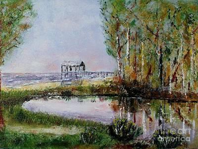 Fairhope Al. Duck Pond Poster by Melvin Turner