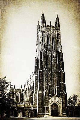 Duke Chapel Poster by Emily Kay
