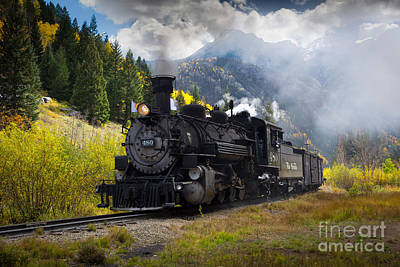 Durango-silverton Narrow Gauge Railroad Poster