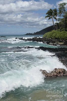 E Lei Kau E Lei Hoolilo I Ke Aloha Paako Poster by Sharon Mau