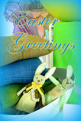 Easter Greetings Poster by The Creative Minds Art and Photography