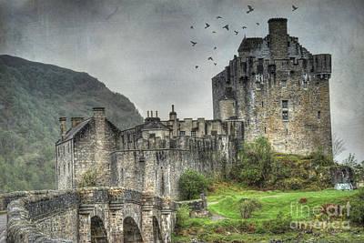 Eilean Donan Castle Poster by Juli Scalzi