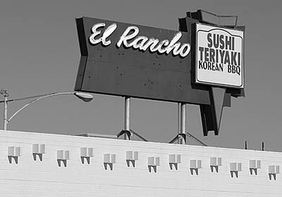 El Rancho Sushi Poster by Charlette Miller