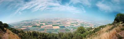 Emek Yizrael Panorama Poster