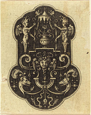 Etienne Delaune, French 1518-1519-1583 Poster