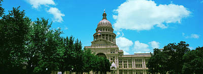 Facade Of The Texas State Capitol Poster
