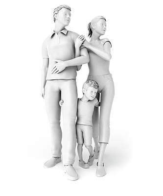 Family Poster by Sebastian Kaulitzki
