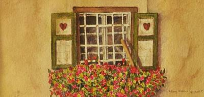 Farm Window Poster