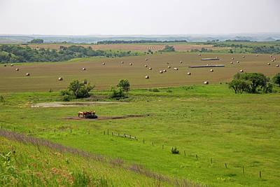Farming In South Dakota Poster
