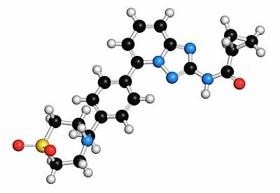 Filgotinib Anti-inflammatory Molecule Poster