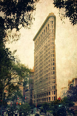 Flatiron District Poster by Jessica Jenney