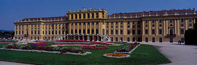 Formal Garden In Front Of A Palace Poster by Panoramic Images