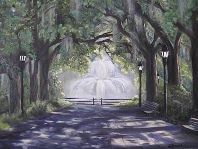 Forsythe Park Poster by Roberta Rotunda