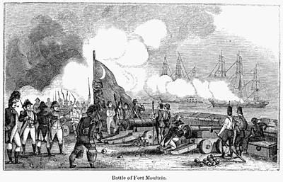 Fort Sullivan Battle, 1776 Poster by Granger